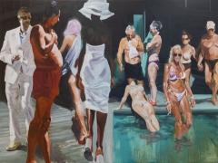 Eric Fischl The Miami Scene, 2013