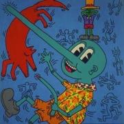 Keith Haring  Untitled (May 30, 1984), 1984