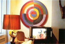Louise Lawler  Living Room Corner (Stevie Wonder), 1984