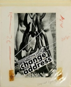 Barbara Kruger, Untitled (We are notifying you of a change of address), 1986photograph and type on paper10 1/2 x 8 1/2 inche…