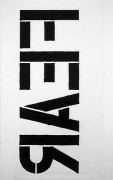 Christopher Wool Untitled (Fear), 1990