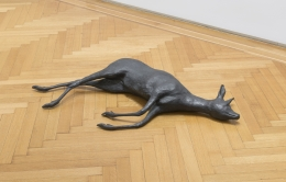 Rosemarie Trockel, Creature of Habit 2 (Deer), 1990