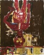 Georg Baselitz  Edvard vorm Spiegel, 1982