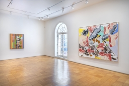 Installation View Kippenberger and Salle