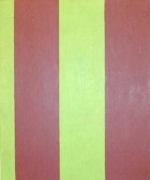 Sherrie Levine  Untitled (Broad Stripe #7)  1985