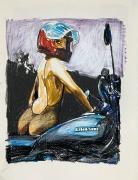 Enoc Perez, Untitled (red helmet)
