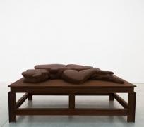 Thomas SchütteStahlfrau Nr. 4, 1999cast steel on steel table, 13 3/4 x 86 1/2 x 47 1/2 inches (34.9 x 219.7 x 120.7 cm.)Edit…