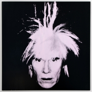Andy Warhol  Self-Portrait (Fright Wig), 1986