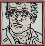 Keith Haring, Untitled (Self-portrait), 1985