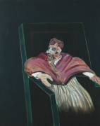 Francis Bacon, Study for a Pope III, 1961