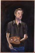 Albert Oehlen, Untitled (Self portrait), 2005