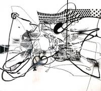 Albert Oehlen, Untitled, 2004