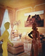 Laurie Simmons, Coral Living Room, 1983