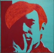 Andy Warhol, Self-Portrait, 1966-67
