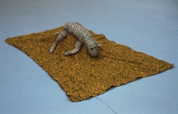 Mike Kelley, Arena #8 (Leopard), 1990