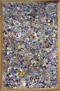 Mike Kelley, Memory Ware Flat #29, 2001mixed media on board70 1/4 x 46 1/2 x 4 inches (178.4 x 118.1 x 10.2 cm)