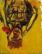 Georg Baselitz Orangenesser (Orange Eater), 1991