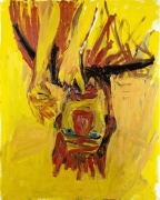 Georg Baselitz Clown, 1981 oil on canvas
