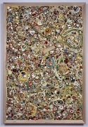 Mike Kelley, Memory Ware #41, 2003mixed media on wood panel76 1/4 x 52 1/4 x 4 inches