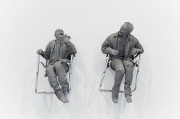 Juan Muñoz One Laughing at the Other, 2000 Sculpture