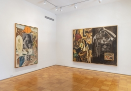 Installation View David Salle Paintings 1985-1995