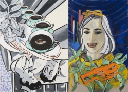 David Salle, Hearts and Gloves