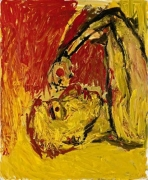 Georg Baselitz Orangenesser, 1982 oil on canvas