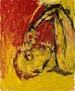 Georg Baselitz Orangenesser, 1982 oil on canvas