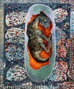 Martin Kippenberger, Dinosaurierei (Dinosaur egg), 1996