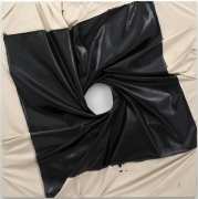Steven Parrino  SPIN-OUT VORTEX (BLACK HOLE), 2000