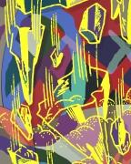 KAWS MIRROR,2018 acrylic on canvas