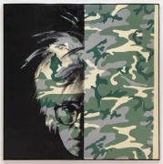 Andy Warhol Self-Portrait (Camouflage) , 1986