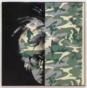 Andy Warhol Self-Portrait (Camouflage) , 1986
