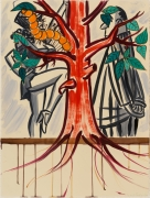 David Salle  Untitled  2020  ink and acrylic on paper