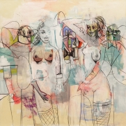 George Condo, Listening to Voices