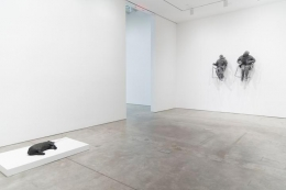 Installation view Trockel and Munoz Chelsea
