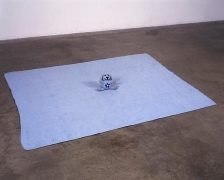 Mike Kelley, Arena #9 (Blue Bunny), 1990