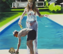 Eric Fischl, Feeding the Turtle, 2016