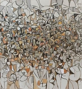 George Condo, Population of Forms, 2011