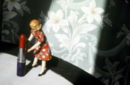 Laurie Simmons  Pushing Lipstick (Spotlight), 1979