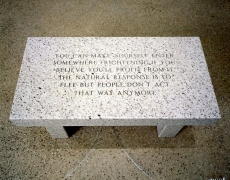 Jenny Holzer, Living Series: You can make yourself enter, 1989