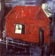 Albert Oehlen Rotes Haus, 1985