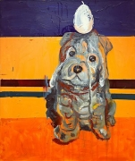 Martin Kippenberger, Untitled , 1996Oil on canvas39 3/8 x 47 1/4 inches (100 x 120 cm)