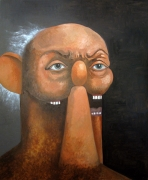 George Condo, Old Man Portrait