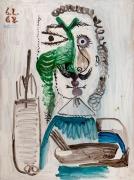 Pablo Picasso, Le Peintre, 6 February 68