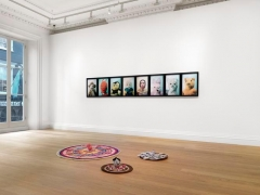 Installation view Childish Things Exhibition