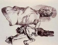 Martin Kippenberger, Untitled (The Raft of the Medusa),, 1996