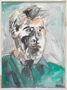 Albert Oehlen Selbstporträt, 1983