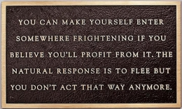 Jenny Holzer Living Series: You can make yourself enter, 1981