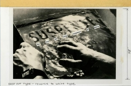 Barbara Kruger, Untitled (You are the long complaint of desire), 1986
